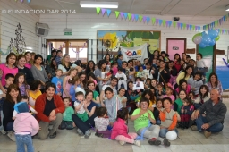 Familias y voluntarios2014